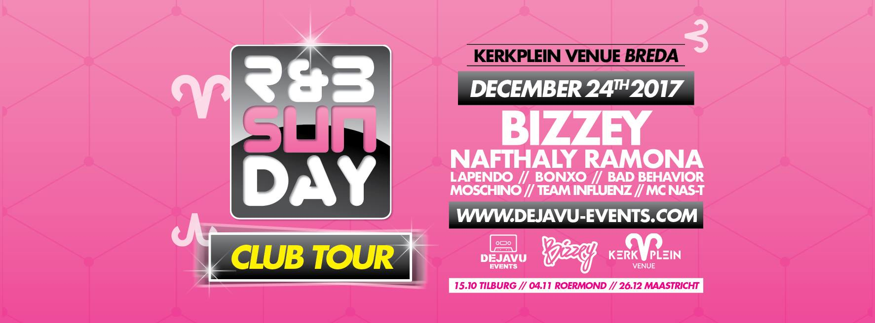 R&B Sunday – Club Tour  Kerkplein Venue Breda
