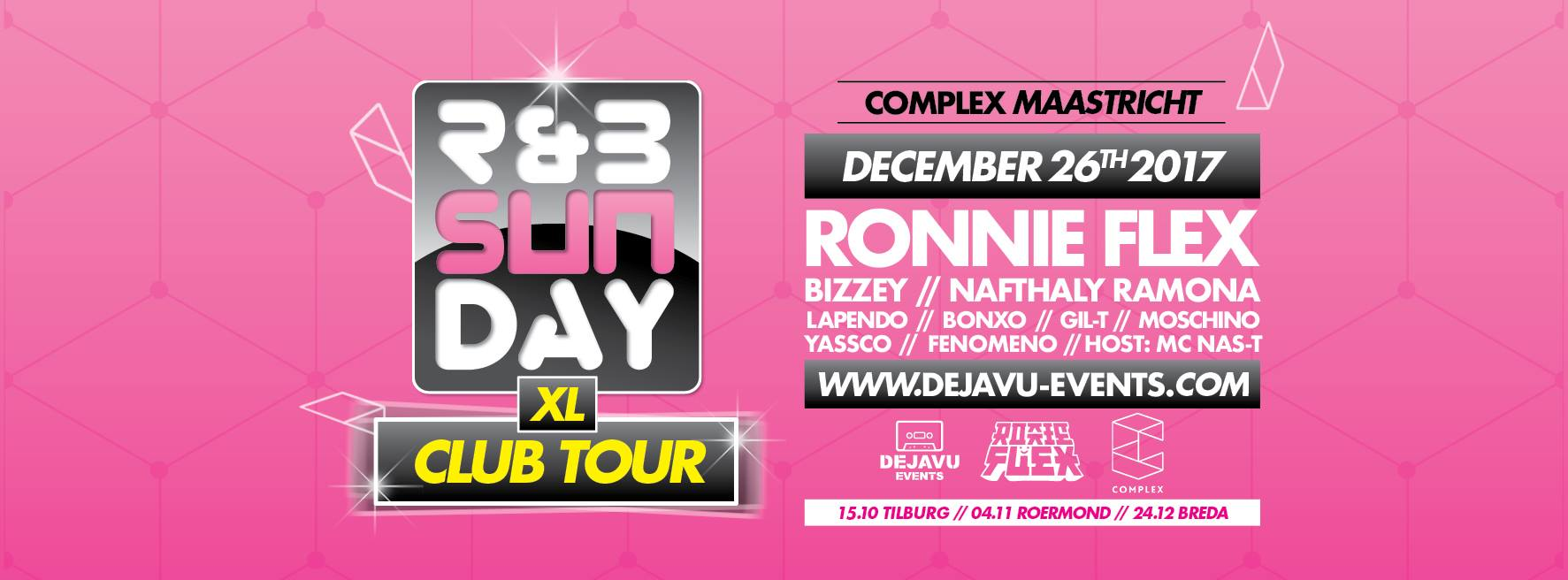 R&B Sunday XL – Club Tour | Complex Maastricht