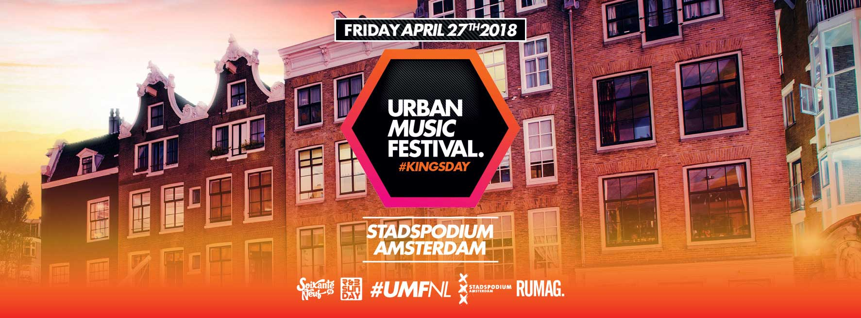 Urban Music Festival Kingsday | Stadspodium Amsterdam