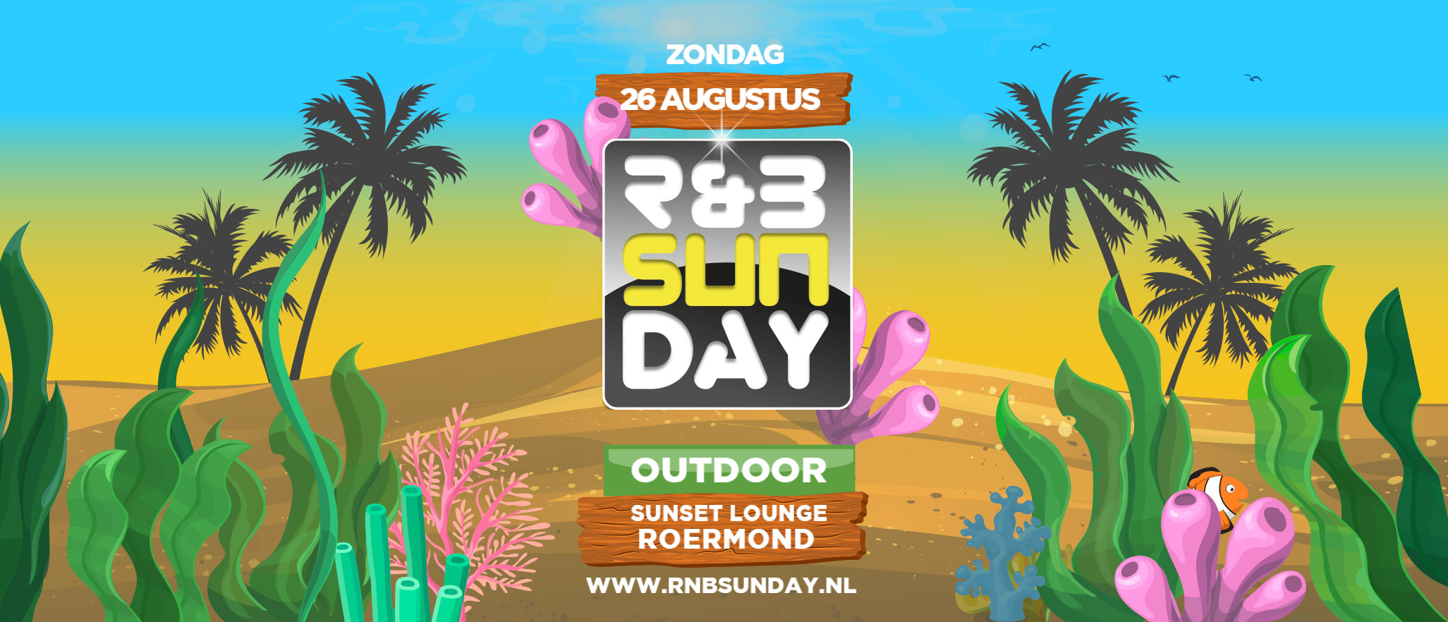 R&B Sunday Outdoor 2018 | Sunset Lounge Roermond