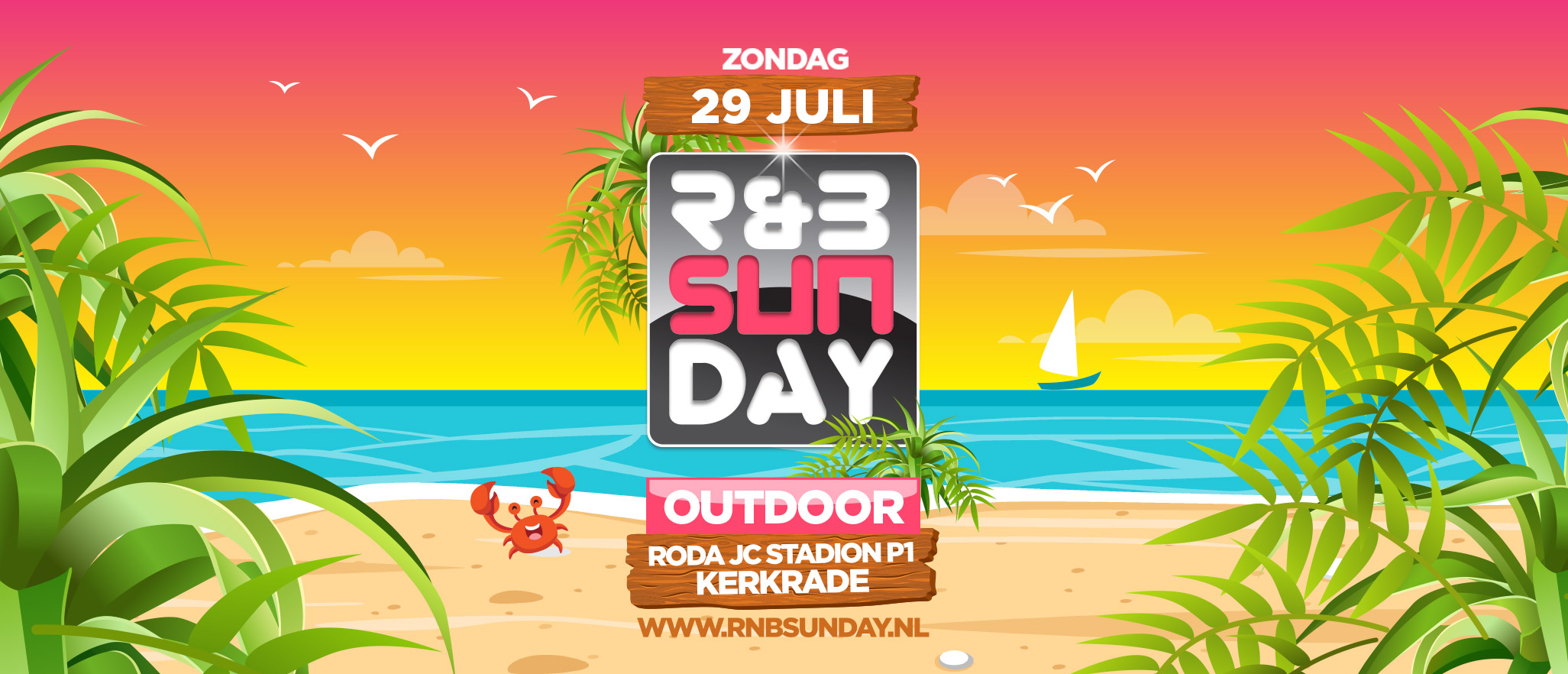 R&B Sunday Outdoor 2018 | Roda JC Stadion Kerkrade