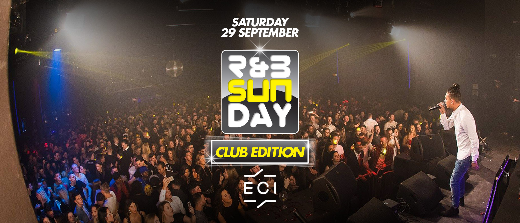 R&B Sunday – Club Edition | ECI Roermond