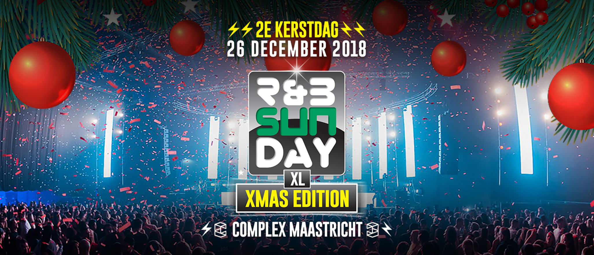R&B Sunday XL – XMas Edition | Complex Maastricht
