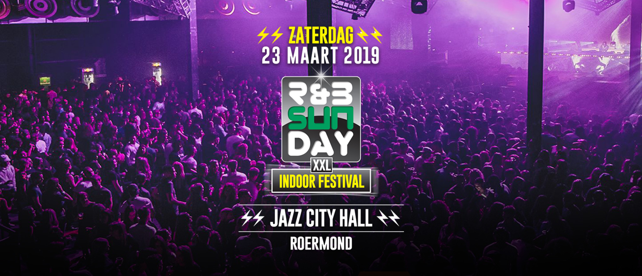 R&B Sunday XXL | Indoor Dagfestival Roermond