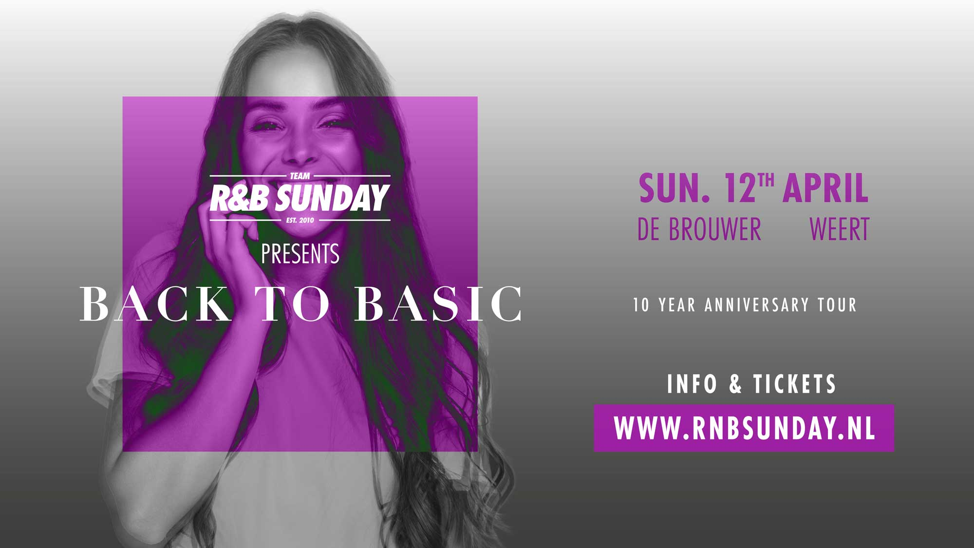 R&B Sunday – 10 Year Anniversary – Weert